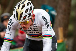 VAN DER POEL Mathieu (NED) during Men Elite race, 2019 UCI Cyclo-cross World Cup Heusden-Zolder, Belgium, 26 December 2019. <br /> <br /> Photo by Pim Nijland / PelotonPhotos.com <br /> <br /> All photos usage must carry mandatory copyright credit (Peloton Photos   Pim Nijland)
