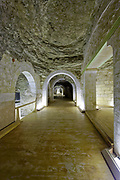 Serapeum is an underground labyrinth cut from solid rock with large side chambers containing granite and diorite sarcophagi, weighing upto 70 tons.