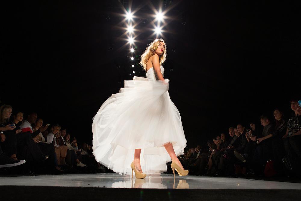 TORONTO, ON - MARCH 14: during Toronto Fashion Week in Toronto, Ontario. Toronto Star/Todd Korol