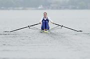 Hazewinkel. BELGUIM  GBR W1X. Frances HOUGHTON. 2004 GBR Rowing Trials - Rowing Course, Bloso, Hazewinkel. BELGUIM. [Mandatory Credit Peter Spurrier/ Intersport Images]