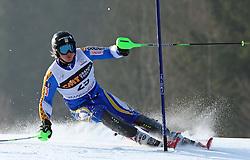 Jens Byggmark at first run of 9th men's slalom race of Audi FIS Ski World Cup, Pokal Vitranc,  in Podkoren, Kranjska Gora, Slovenia, on March 1, 2009. (Photo by Vid Ponikvar / Sportida)