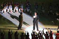 Figueroa na Festa Gigante - Reinauguração do Beira-Rio, neste sábado 05 de abril de 2014. O estádio Beira Rio receberá os jogos da Copa do Mundo de Futebol 2014. FOTO: Jefferson Bernardes/ Agência Preview
