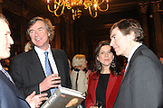 VISCOUNT BOYNE; JULIA HOWARD; PHILIP DUNNE, Celebration of the  200TH Anniversary of the  Birth of Rt.Hon. John Bright MP  and the publication of <br /> ÔJohn Bright: Statesman, Orator, AgitatorÕ by Bill Cash MP. Reform Club. London. 14 November 2011. <br /> <br />  , -DO NOT ARCHIVE-© Copyright Photograph by Dafydd Jones. 248 Clapham Rd. London SW9 0PZ. Tel 0207 820 0771. www.dafjones.com.<br /> VISCOUNT BOYNE; JULIA HOWARD; PHILIP DUNNE, Celebration of the  200TH Anniversary of the  Birth of Rt.Hon. John Bright MP  and the publication of <br /> 'John Bright: Statesman, Orator, Agitator' by Bill Cash MP. Reform Club. London. 14 November 2011. <br /> <br />  , -DO NOT ARCHIVE-© Copyright Photograph by Dafydd Jones. 248 Clapham Rd. London SW9 0PZ. Tel 0207 820 0771. www.dafjones.com.