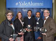 Photo by Mara Lavitt<br /> November 20, 2015 <br /> The Presidents' Room, Yale University.<br /> The annual Yale Alumni Association Leadership Awards.