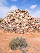 Image of selenite crystals (gypsum, calcium sulfate) at Glass Mountain, Hartnett Draw, Capitol Reef National Park, Utah.