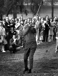 PGA golfer George Archer playing in the 1966 U.S.Open at the Olympic Club in San Francisco, California. (1966 photo by Ron Riesterer)