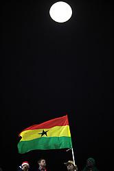 26.06.2010, Royal Bafokeng Stadium, Rustenburg, RSA, FIFA WM 2010, United states of America (USA) vs Ghana (GHA), im Bild Fans, Supporters,Tifosi.. EXPA Pictures © 2010, PhotoCredit: EXPA/ InsideFoto/ Giorgio Perottino +++ for AUT and SLO only +++ / SPORTIDA PHOTO AGENCY