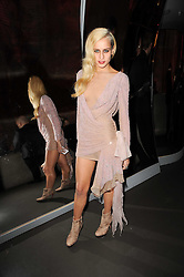 ALICE DELLAL at The Love Ball hosted by Natalia Vodianova and Lucy Yeomans to raise funds for The Naked Heart Foundation held at The Round House, Chalk Farm, London on 23rd February 2010.