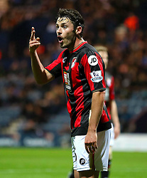 Adam Smith of Bournemouth  - Mandatory byline: Matt McNulty/JMP - 07966386802 - 22/09/2015 - FOOTBALL - Deepdale Stadium -Preston,England - Preston North End v Bournemouth - Capital One Cup - Third Round