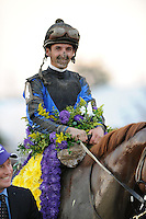 Robby Albarado and Curlin won the Breeders Cup Classic at the Breeders Cup 2007 World Championships