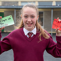 Maria Wallis with her Jessies idea 'Positive Quotes'