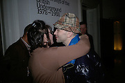 Sandra Esquilant and Michael Clark, The Secret public/The Last Days of the British Underground. 1978-1988. I.C.A. London.  21 March 2007.  -DO NOT ARCHIVE-© Copyright Photograph by Dafydd Jones. 248 Clapham Rd. London SW9 0PZ. Tel 0207 820 0771. www.dafjones.com.
