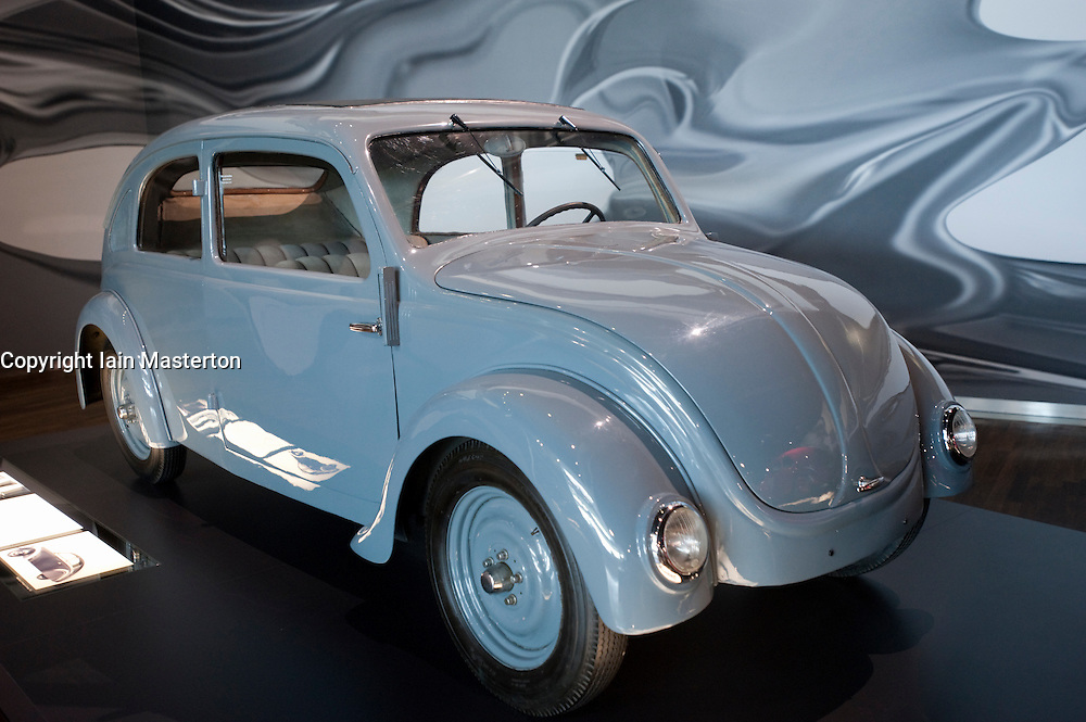 Porsche Type 32 on display at Autostadt or Car City in Wolfsburg in Germany