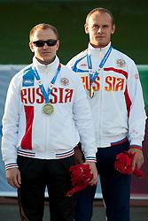 Andrey Koptev, Guide: PETRICHENKO Sergey, 2014 IPC European Athletics Championships, Swansea, Wales, United Kingdom