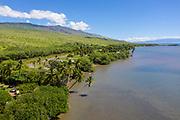 Molokai coast, Molokai, Hawaii