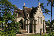 Lunaliho Mausoleum, Kawaihao Church, Honolulu, Hawaii<br />