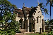 Lunaliho Mausoleum, Kawaihao Church, Honolulu, Hawaii<br />