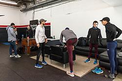 Reebok Boston Track Club<br /> home base training<br /> Flanagan, Rogers,