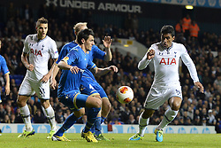 19.09.2013, White Hart Lane, London, ENG, UEFA Champions League, Tottenham Hotspur vs Toromsoe IL, Gruppe K, im Bild Tottenham's Paulinho  during UEFA Champions League group K match between Tottenham Hotspur vs Toromsoe IL at the White Hart Lane, London, United Kingdom on 2013/09/19 . EXPA Pictures © 2013, PhotoCredit: EXPA/ Mitchell Gunn <br /> <br /> ***** ATTENTION - OUT OF GBR *****