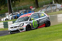 Sid Smith in action while competing in the BRSCC Fiesta Junior Championship. Picture taken at Cadwell Park on August 1 & 2, 2020 by BRSCC photographer Jonathan Elsey