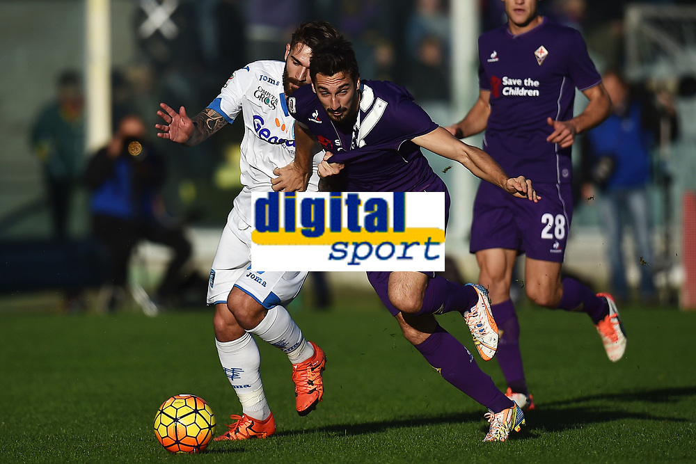Marko Livaja Empoi, Davide Astori Fiorentina <br /> Firenze 22-11-2015 Stadio Artemio Franchi Football Calcio 2015/2016 Serie A Fiorentina - Empoli Foto Andrea Staccioli / Insidefoto<br /> Fiorentina captain Davide Astori dies suddenly aged 31 . <br /> Astori was staying a hotel with his team-mates ahead of their game on Sunday away at Udinese when he passed away. <br /> Foto Insidefoto