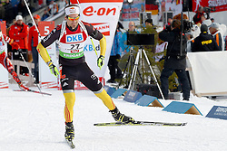 10.12.2011, Biathlonzentrum, Hochfilzen, AUT, E.ON IBU Weltcup, 2. Biathlon, Hochfilzen, Verfolgung Herren, im Bild Roesch Michael (GER) spaeterer 12 // during E.ON IBU World Cup 2th Biathlon, Hochfilzen, Austria on 2011/12/10. EXPA Pictures © 2011. EXPA Pictures © 2011, PhotoCredit: EXPA/ nph/ Straubmeier..***** ATTENTION - OUT OF GER, CRO *****
