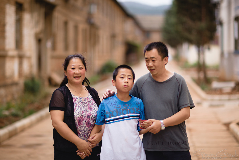 Feng suffers from cerebral palsy and autism but, with the support of his parents, the CBM field workers and the local Disabled Persons' Federation, he has learned to walk.