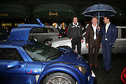 MICHAEL SCOTT AND AMIR BOUSSEAU, De Grisogono & Londino Car Rally  party. <br />