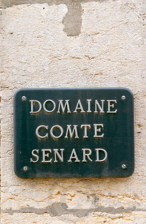 domaine comte senard aloxe-corton cote de beaune burgundy france