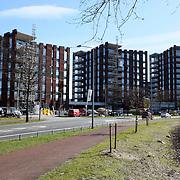 NLD/Huizen/20080305 - Woningbouw project de Regentesse Huizermaatweg Huizen