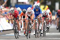 Arrival Sprint/ KAJIHARA Yumi (JPN)/ ANDERSEN Susanne (NOR) during the UCI Cycling World Championships 2015, in Richmond, USA, Women Juniors, Richmond - Richmond (64.9Km), on September 25, 2015 - Photo Tim de Waele / DPPI