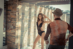 "Alessandra Ambrosio is seen here in behind the scenes photos on the set of the latest LASCANA swimwear and lingerie shoot. The 37-year-old model is captured posing up a storm for the Spring/ Summer 2018 collection, which she took part in after being announced as a new brand ambassador. In an interview to accompany the shoot the mother-of-two — who called off her 10-year engagement to Jamie Mazur back in March — said: ""I think LASCANA's campaign and their philosophy 'it's a woman's world' is about empowering women to feel good and confident to do whatever they want, to follow their dreams and to accomplish them and to be happy. I can definitely identify with this."" She went on: ""I think we learn from everything that we do. Of course there are things I've done that were wrong but I feel like these things teach you to be the way you want be. ""There are certain things in my life that maybe I wouldn't have done again in retrospect. But I feel like you have to do some things wrong to learn from them. Everyone is human, everyone makes mistakes but those mistakes are what make you learn and make you stronger. ""Life is about learning every day, it's about experiencing things. That's the beauty of life; it's a learning process the whole time."". 16 May 2018 Pictured: Alessandra Ambrosio in behind the scenes photos from a new campaign for LASCANA after being announced as the brand ambassador for the international Spring/ Summer 2018 collection. Photo credit: LASCANA/ MEGA TheMegaAgency.com +1 888 505 6342"