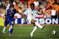 doetinchem 22-06-2005 1/8 finale world youth championship nexxt2005 nigeria - oekraine 1-0