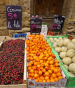 Outdoor Market, Calvisson, Southern France