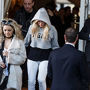 NLD/Amsterdam/20131110 - Ellie Goulding at the hotel for the MTV EMA 2013
