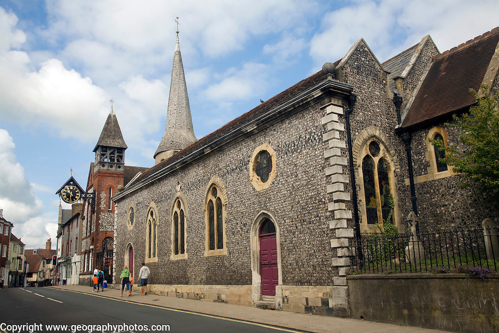 Church of Saint Michael in Lewes, East Sussex, England