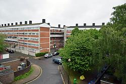 Suffolk Square, council housing estate, Norwich, UK