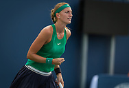 Petra Kvitova of the Czech Republic in action during her third-round match at the 2018 Western and Southern Open WTA Premier 5 tennis tournament, Cincinnati, Ohio, USA, on August 16th 2018 - Photo Rob Prange / SpainProSportsImages / DPPI / ProSportsImages / DPPI
