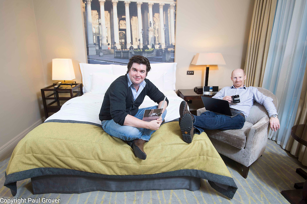 L to R Tom Valentine and Alex Saint founders of Secret Escapes