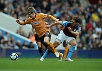 Kevin Doyle<br /> Wolverhampton Wanderers 2009/10<br /> Stiliyan Petrov Aston Villa<br /> Aston Villa V Wolverhampton Wanderers (2-2) 20/03/10<br /> The Premier League<br /> Photo Robin Parker Fotosports International