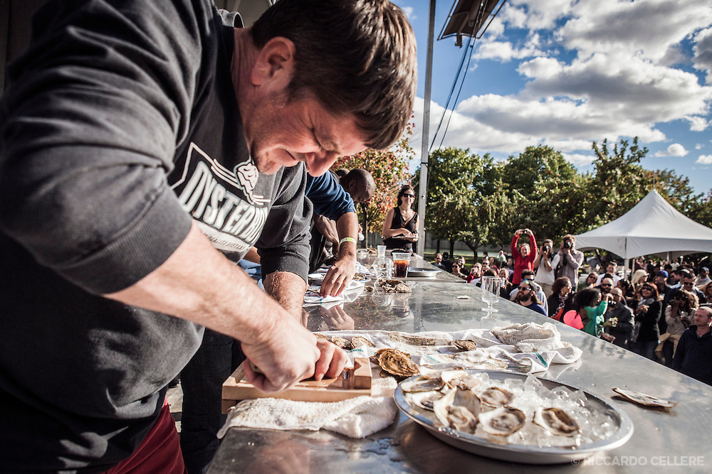 The Open Pier Foundation presents the 5th annual Montreal Oysterfest. September 8, 2013.