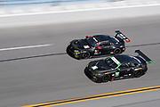 January 5-7, 2018. IMSA Weathertech Series ROAR before 24 test. 96 Turner Motorsport, BMW M6 GT3, Jens Klingmann, 25 BMW Team RLL, BMW M8 GTLM, Alexander Sims, Connor De Phillippi, Bill Auberlen, Philipp Eng(G)