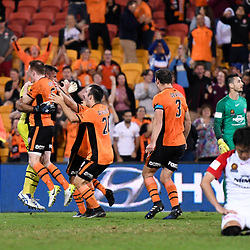 21st April, 2017 - A-League Elimination Final: Brisbane Roar v Western Sydney Wanderers
