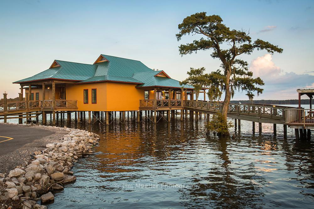 Regatta Louisiana Seafood and Steakhouse restaurant is located on Lake Arthur along the Flyway Byway in Jefferson Davis Parish, La.