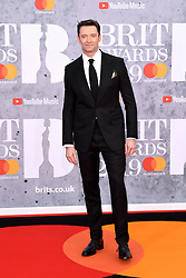 Hugh Jackman attending the Brit Awards 2019 at the O2 Arena, London. Photo credit should read: Doug Peters/EMPICS Entertainment. EDITORIAL USE ONLY