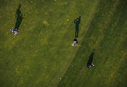 THEMENBILD - Golfer beim spielen der Runde. Der 18-Loch-Championshipplatz mit überdachter Drivingrange für PROS und Anfänger, aufgenommen am 06. Juni 2019 in Uderns Oesterreich // Golfer playing. the 18-hole championship course with covered driving range for PROS and beginners, in Uderns, Austria on 2019/06/06. EXPA Pictures © 2019, PhotoCredit: EXPA/ JFK