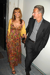 TREVOR EVE and SHARON MAUGHAN at a party to celebrate the opening of a new art gallery, 20 Hoxton Square, Hoxton Square, London on 27th April 2007.<br /><br />NON EXCLUSIVE - WORLD RIGHTS