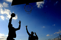 South Africa - Johannesburg - 09 July 2020 - Some schools are closed yet basketball is keeping the kids off the streets during Covid-19 impending peak at Roodebult in the East Rand.<br />Picture:Nokuthula Mbatha/African News Agency(ANA)