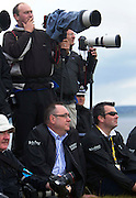 The Aberdeen Asset Management Scottish Open Golf Championship 2012 At Castle Stuart Golf Links..Final Round Saturday 14-07-12.. .First Minister Alex Salmond watches on as Jeev Milkha Singh wins the play off18th , during the FinalRound of The Aberdeen Asset Management Scottish Open Golf Championship 2012 At Castle Stuart Golf Links. The event is part of the European Tour Order of Merit and the Race to Dubai....At Castle Stuart Golf Links, Inverness, Scotland...Picture Mark Davison/ ProLens PhotoAgency/ PLPA.Saturday 14th July 2012.