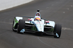 May 18, 2018 - Indianapolis, Indiana, United States of America - PIPPA MANN (63) of England brings her car down the frontstretch during ''Fast Friday'' practice for the Indianapolis 500 at the Indianapolis Motor Speedway in Indianapolis, Indiana. (Credit Image: © Chris Owens Asp Inc/ASP via ZUMA Wire)